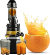 Grandecom® Pro Biolomix Slowjuicer - Premium - Juicer - BPA Vrij - Zwart