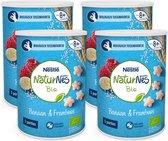 NaturNes Bio Nutripops Banaan Framboos - baby tussendoortje - vanaf 8 maanden - 4 stuks - totaal 20 porties
