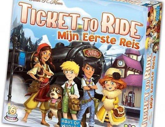 Ticket to Ride Mijn Eerste Reis - Bordspel