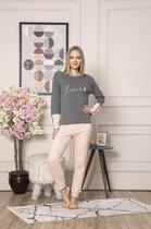 ⭐Derin's Dames Luxe Pyjama | Set | Lange Mouwen | Pyjama Dames Volwassenen | Pyjama Dames |