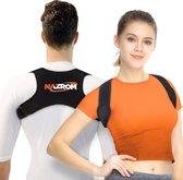 NAZROM® - Postuur Corrector - Houding Correctie - Rug Brace tegen Rugklachten – Verstelbare Rugband