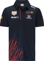 Max Verstappen Red Bull Racing Teamline Polo 2021 Maat L  - Formule 1 - Circuit Zandvoort -