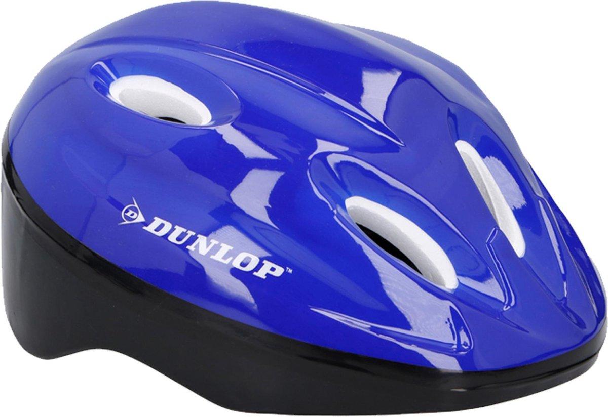 Dunlop Fietshelm Maat 48 - 54 | Blauw