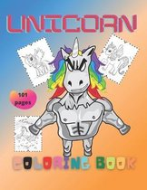 Unicorn: Coloring book for kids and adults