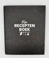Afbeelding van Mijn receptenboek - recepten verzamelboek - receptenboek invulboek - recepten notitieboek  - recepten verzamelmap - A5 receptenmap - Mijnverzamelboek.nl