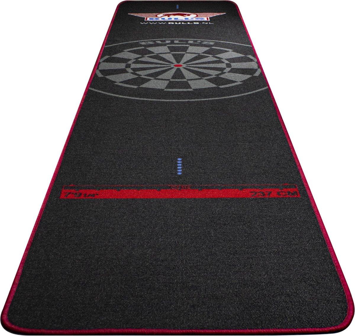 Bulls Carpet Dartmat 300 x 65cm rood