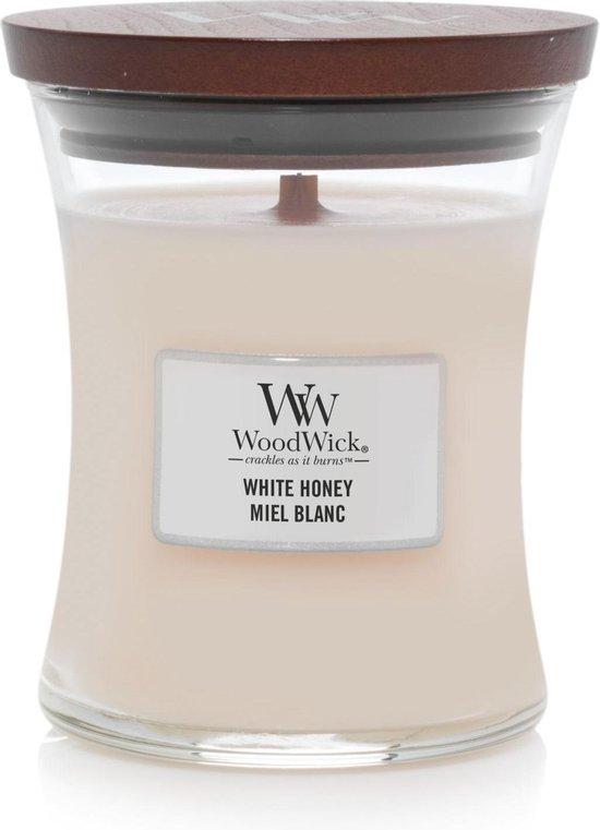 Woodwick 5038581077833 Candle, beige, medium