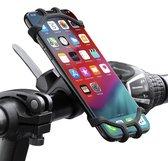 """Smartphone Houder Fiets  - Houder voor Fietsen – Bike Phone Holder – 360graden – 4"""" tot 7""""- Universele Telefoonhouder – Fietshouder"""
