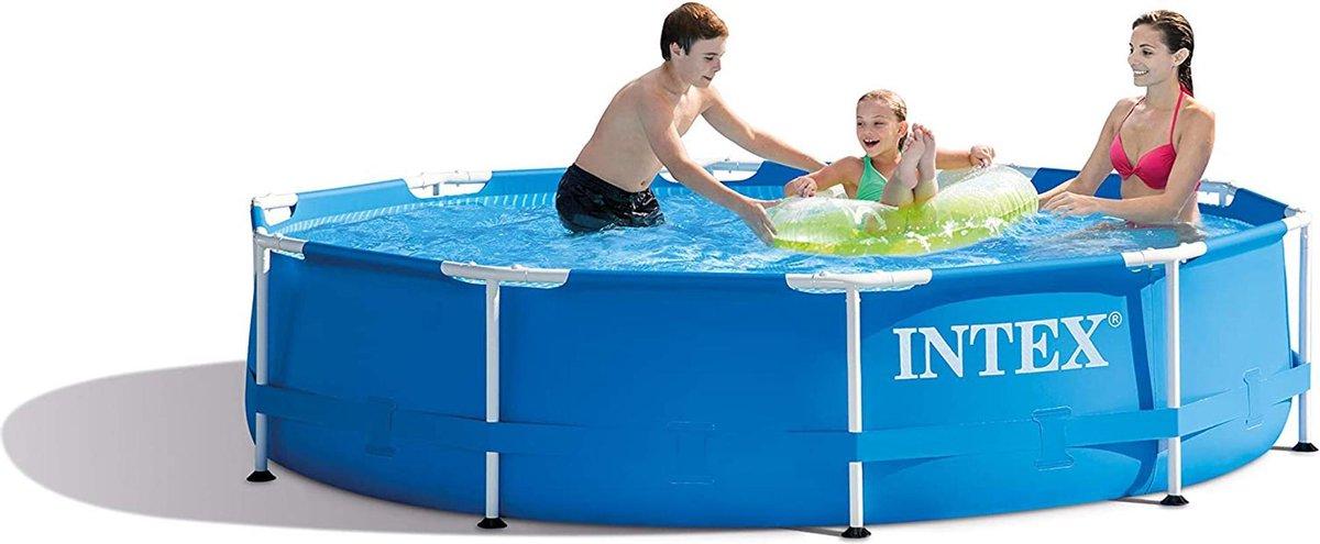 Intex 28202GN Metal Frame Pool - bovengronds zwembad - Ø 305 x 76 cm