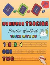 Numbers tracing Practice Workbook trace with me