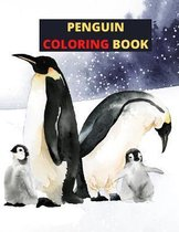 Penguin Coloring Book