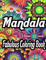 Mandala Fabulous Coloring Book