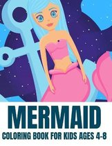 Mermaid Coloring Book For Kids Ages 4-8