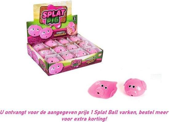 Thumbnail van een extra afbeelding van het spel Sticky Balls Varken - 1 exemplaar - Splat Ball fidget toys