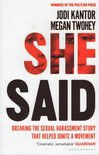 She Said : The New York Times Bestseller