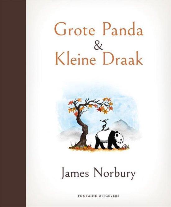 Boek cover Grote Panda & Kleine Draak van James Norbury (Hardcover)
