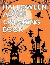 Halloween Adult Coloring Book: Halloween Coloring Book For kids