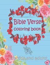 Bible Verse Coloring Book For Kids And Adults