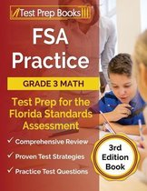FSA Practice Grade 3 Math Test Prep for the Florida Standards Assessment [3rd Edition Book]