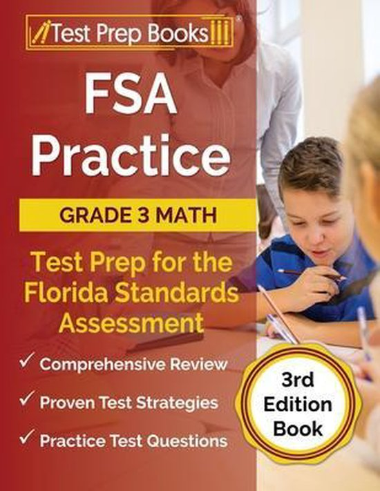 FSA Practice Grade 3 Math Test Prep for the Florida Standards Assessment [3rd Edition Book]