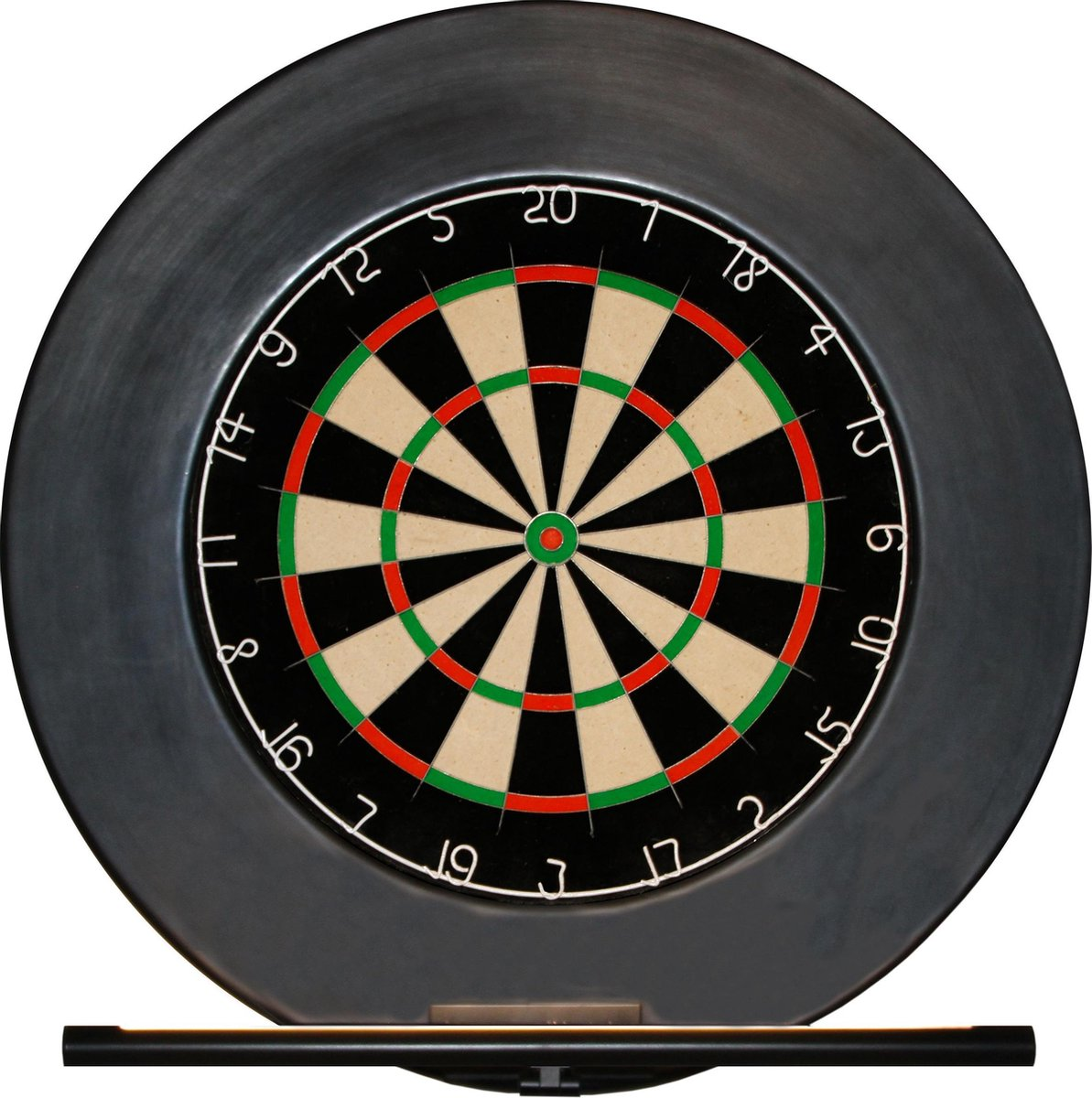 Dragon Darts Ligero - dartbord verlichting - inclusief rubber - surround ring - en Focus II - dartbord