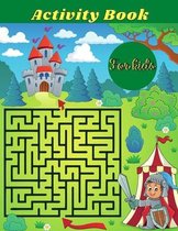 Activity book for kids: Best coloring, Word Search Mazes, Sudokus Activity book for kids! Perfectly to Improve Memory