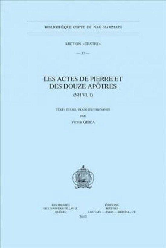 Les Actes de Pierre et des douze apotres (NH VI, 1)