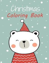 Christmas Coloring Book: 85 Cute and Easy Christmas Coloring Pages as Christmas Gift For Toddlers, Children and Preschoolers To Enjoy This