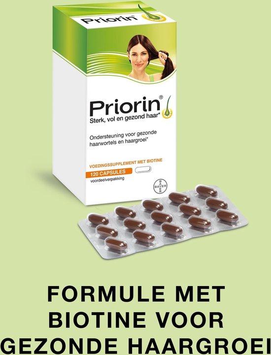 Priorin voor sterk en vol haar van binnenuit, 120 capsules