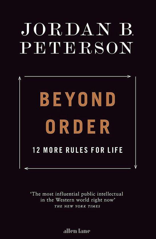 Boek cover Beyond Order van Jordan B. Peterson (Paperback)