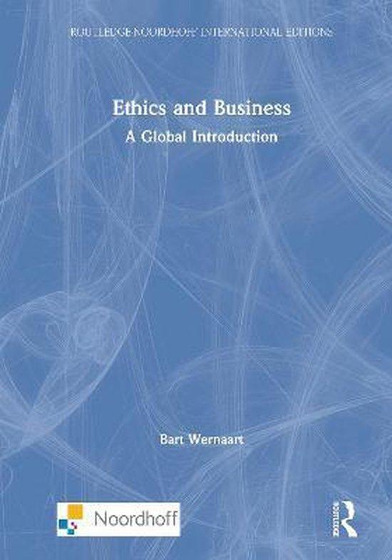 Boek cover Ethics and Business van Bart Wernaart (Hardcover)