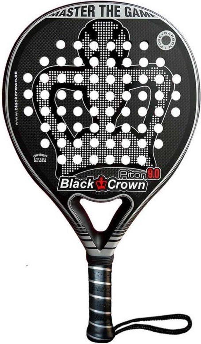 Black Crown Piton 9 (Round) – 2021 padel racket