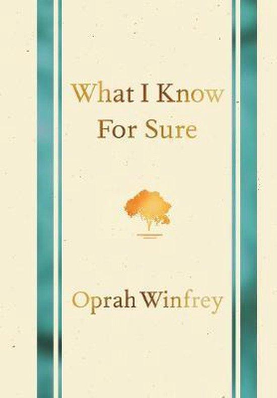 Boek cover What I Know for Sure van Oprah Winfrey (Paperback)