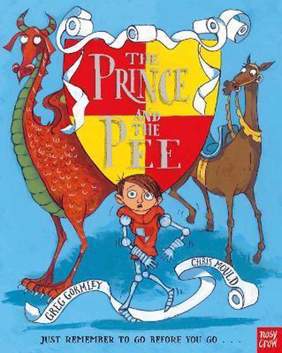 Boek cover The Prince and the Pee van Greg Gormley (Paperback)