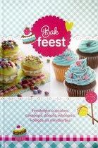 Bakfeest - Feestelijke Cupcakes, Cakepops, Donuts, Whoopies, Koekjes en Minitaartjes - Kinder Kookboek