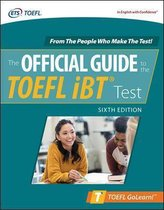 Boek cover Official Guide to the TOEFL iBT Test, Sixth Edition van Educational Testing Service (Paperback)