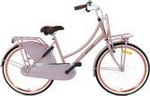 Nogan Vintage Transportfiets - Meisjesfiets - 24 inch - Mat Roze