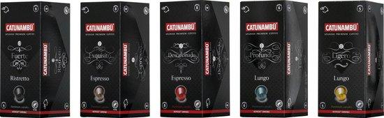 Catunambú Koffiecups Assortibox 5 x 20 capsules