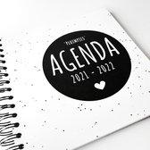 Pluimpjes (school)agenda schooljaar 2021/2022 | vierkant| START AUGUSTUS