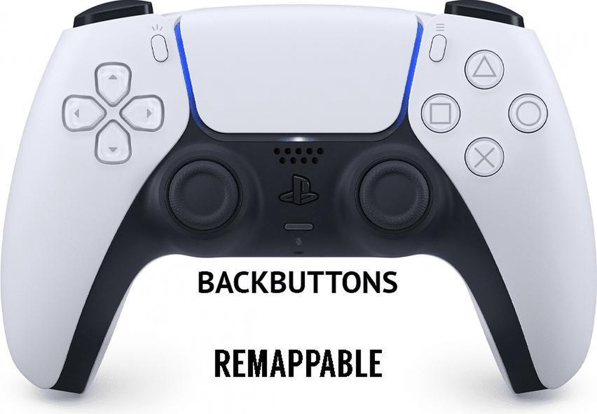 Sony PlayStation 5 DualSense Remappable Backbutton Controller