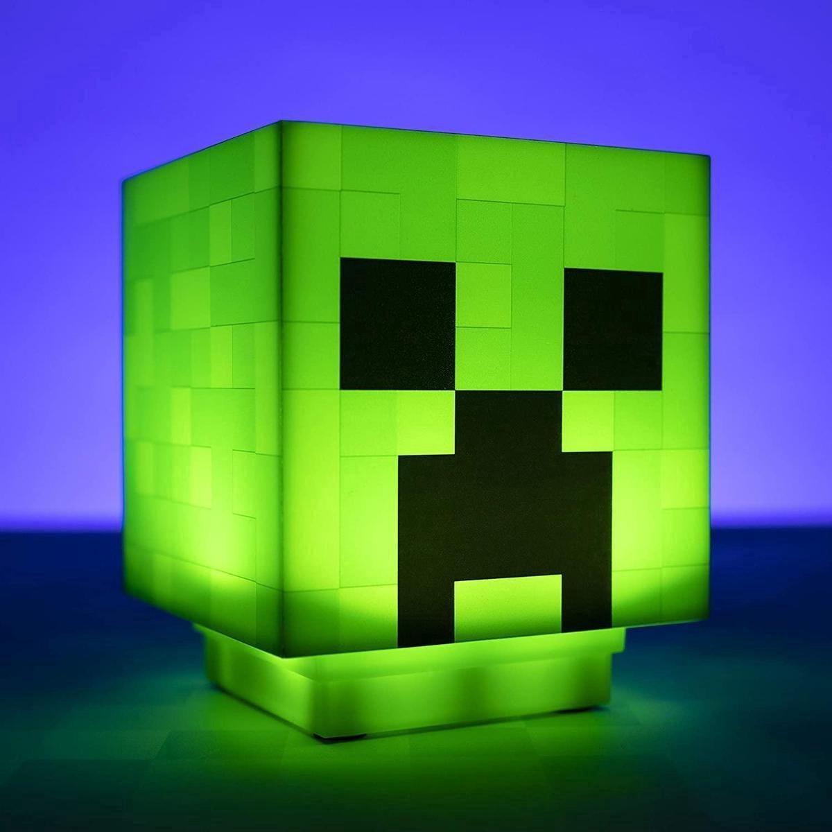 Minecraft Creeper Lamp met geluid