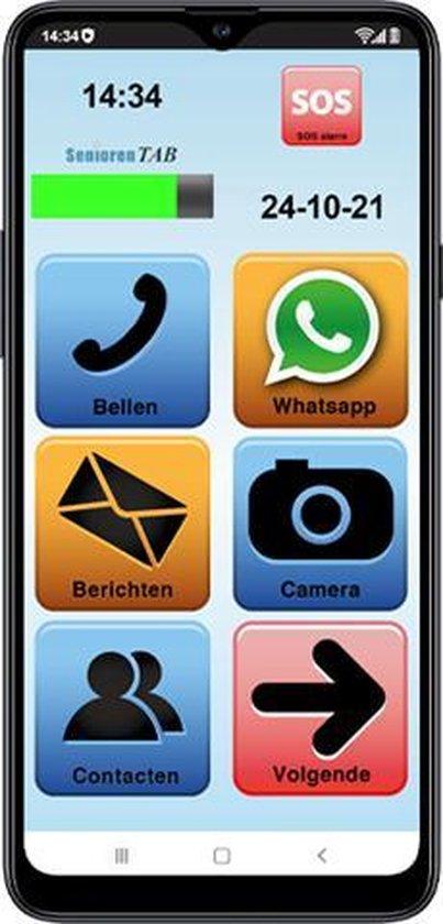 Senioren Smartphone 32 GB (De officiële SeniorenTab op basis van Samsung smartphone)