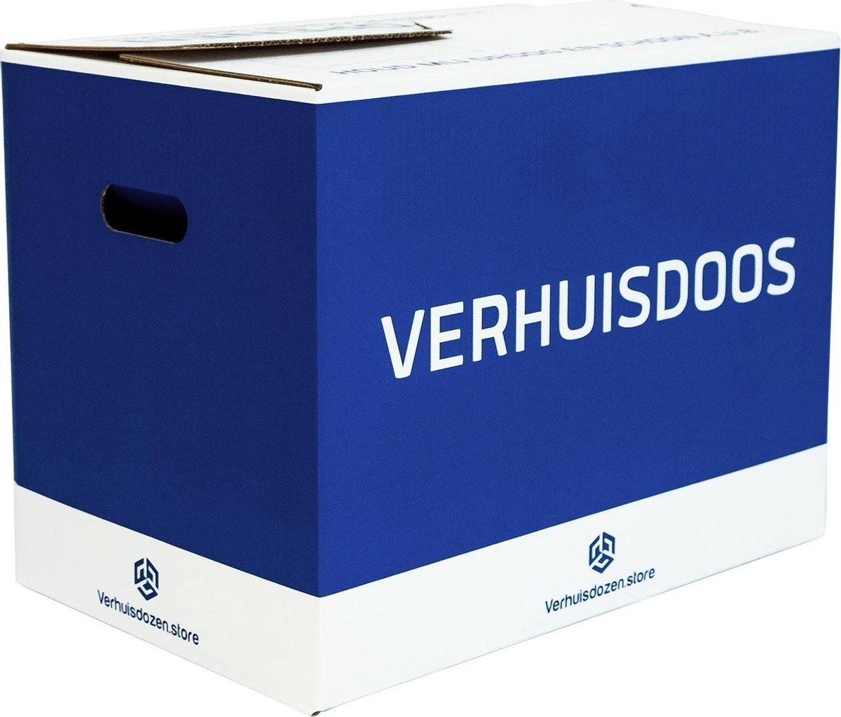 Verhuisdozen Professioneel - 10 stuks - 52 Liter - Extra stevig - Automatisch opzetbaar - 50 kg laad