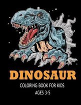 Dinosaur Coloring Books for Kids Ages 3-5