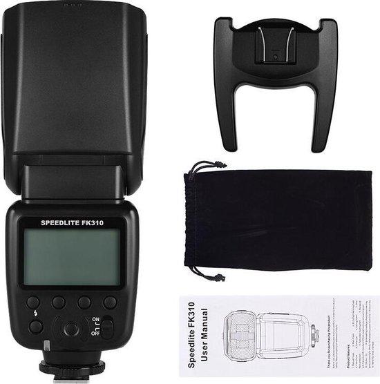 SLFC FK310 flitser speedlite voor Canon Nikon Olympus Pentax Fuji Sony