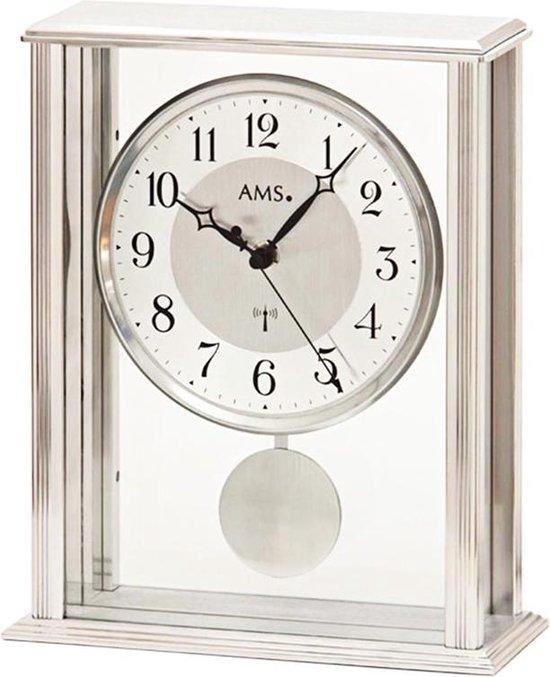 Klassieke AMS tafelklok met quartz-slinger uurwerk