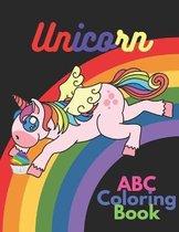 Unicorn ABC Coloring Book
