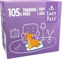 Easypets Puppy Training Pads - Zindelijkheidstraining - Hondentoilet - 58 x 58 cm - 105 stuks