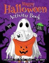 Happy Halloween Activity Book