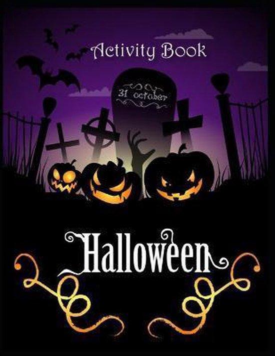 Activity Book Halloween